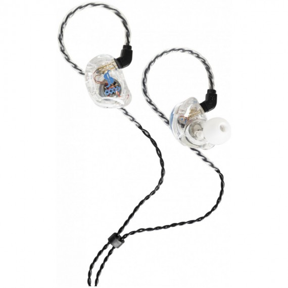 in ear Stagg SPM-435 TR 4-drivers čiré